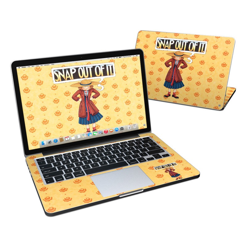 Snap Out Of It MacBook Pro Retina 13-inch Skin