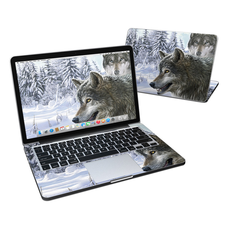 Snow Wolves MacBook Pro Retina 13-inch Skin