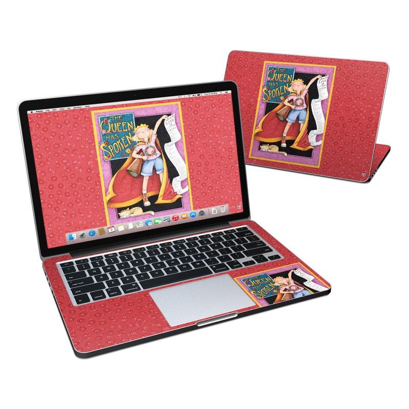 Queen Has Spoken MacBook Pro Retina 13-inch Skin