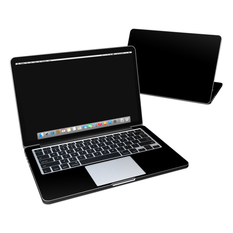Solid State Black MacBook Pro Retina 13-inch Skin