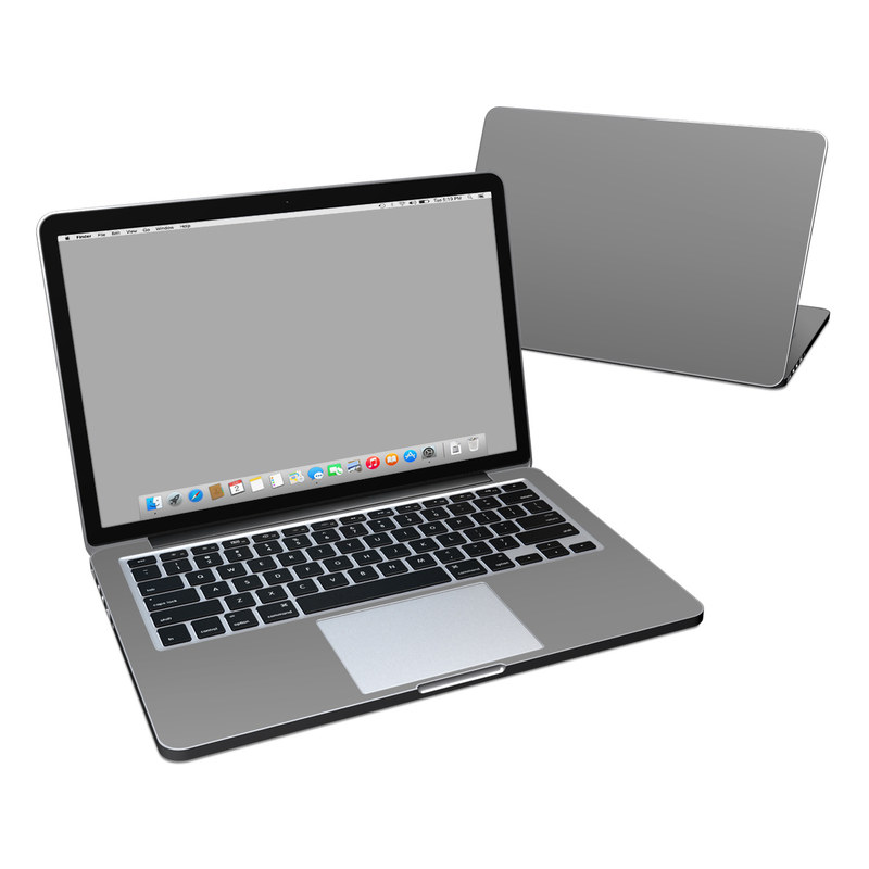 Solid State Grey MacBook Pro Retina 13-inch Skin