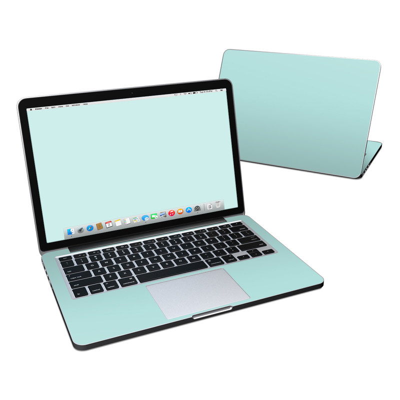 Solid State Mint MacBook Pro Retina 13-inch Skin