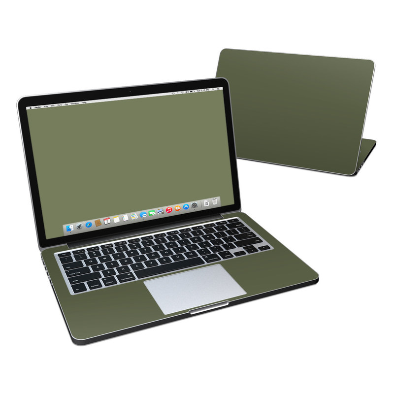 Solid State Olive Drab MacBook Pro Retina 13-inch Skin
