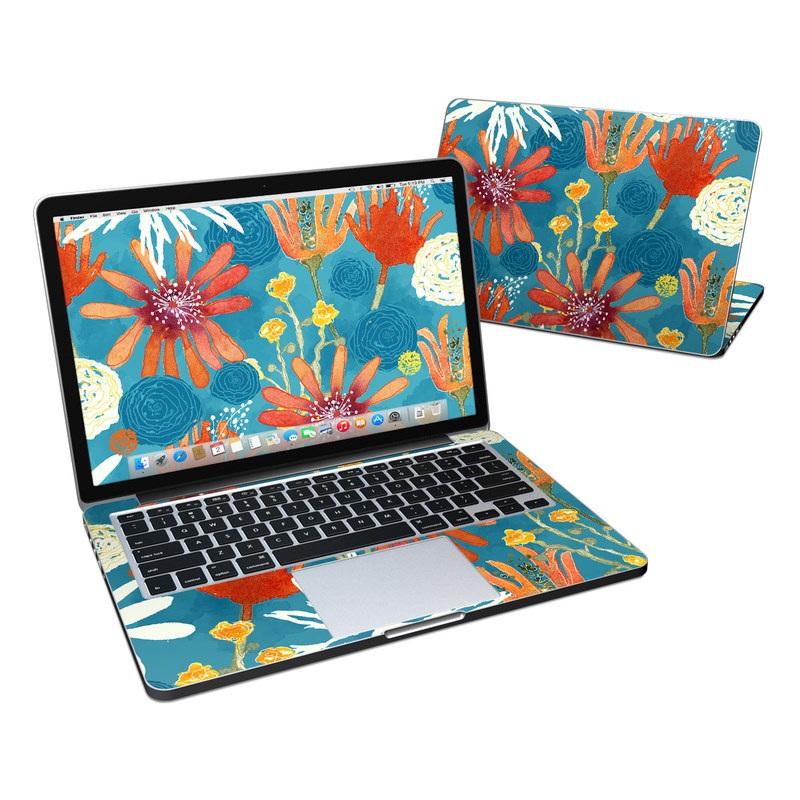 Sunbaked Blooms MacBook Pro Retina 13-inch Skin