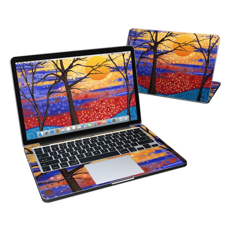 Sunset Moon MacBook Pro Retina 13-inch Skin