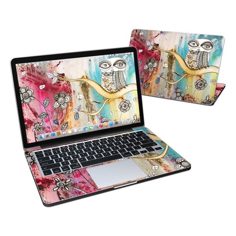 Surreal Owl MacBook Pro Retina 13-inch Skin