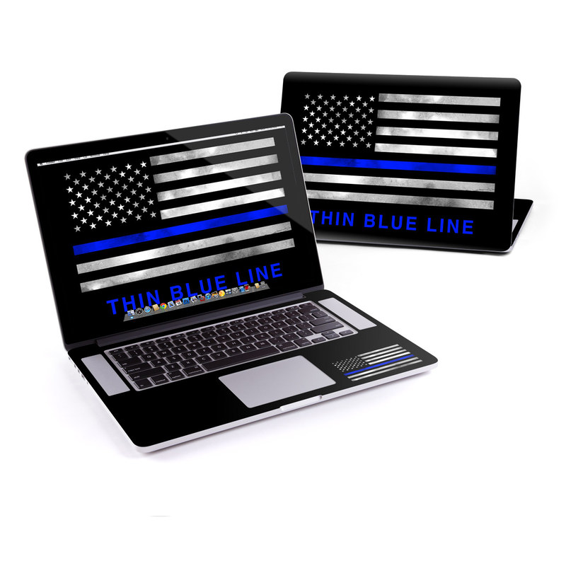 MacBook Pro Pre 2016 Retina 13-inch Skin design of Line, Flag, Text, Flag of the united states, Font, Parallel, Symmetry, Black-and-white, Pattern, Graphics with black, white, gray, blue colors