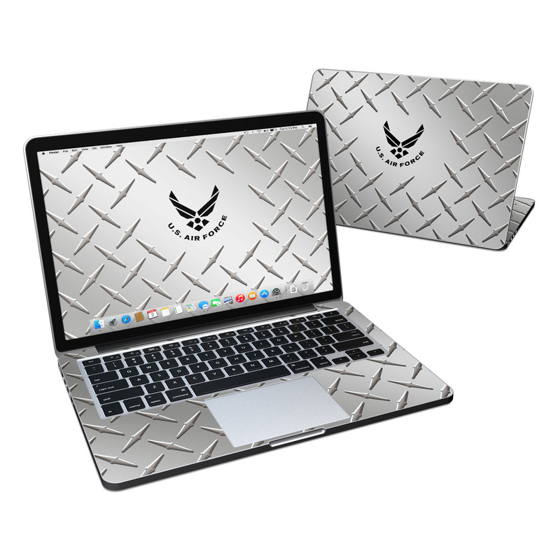 USAF Diamond Plate MacBook Pro Retina 13-inch Skin