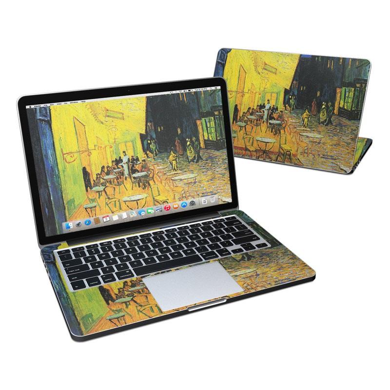 Cafe Terrace At Night MacBook Pro Retina 13-inch Skin