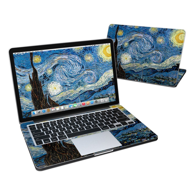 Starry Night MacBook Pro Pre 2016 Retina 13-inch Skin