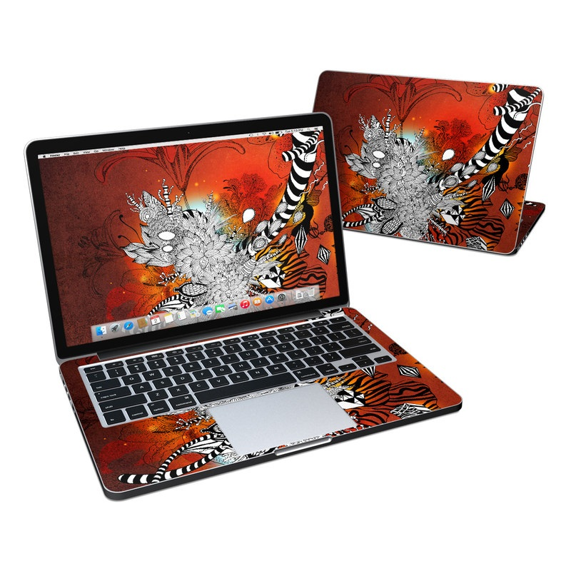 Wild Lilly MacBook Pro Retina 13-inch Skin