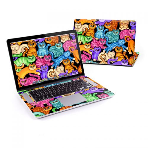 Colorful Kittens MacBook Pro Pre 2016 Retina 15-inch Skin