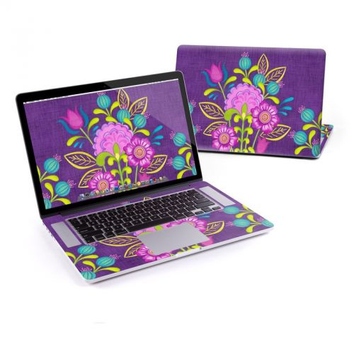 Floral Bouquet MacBook Pro Retina 15-inch Skin