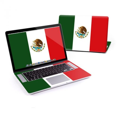 Mexican Flag MacBook Pro Retina 15-inch Skin