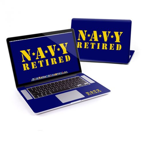 Navy Retired MacBook Pro Pre 2016 Retina 15-inch Skin