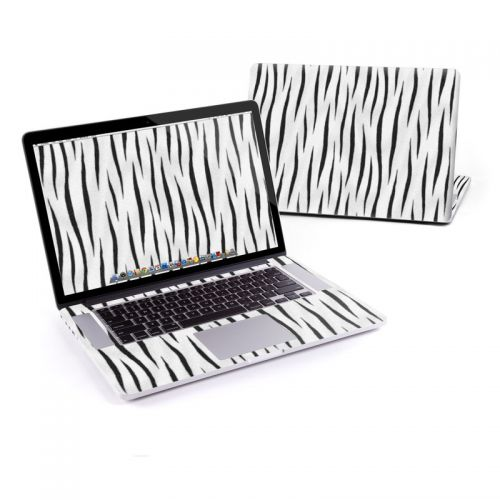 White Tiger Stripes MacBook Pro Retina 15-inch Skin