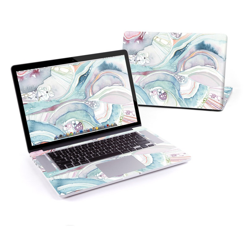 Abstract Organic MacBook Pro Retina 15-inch Skin