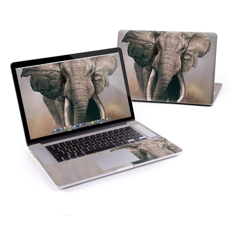 African Elephant MacBook Pro Pre 2016 Retina 15-inch Skin