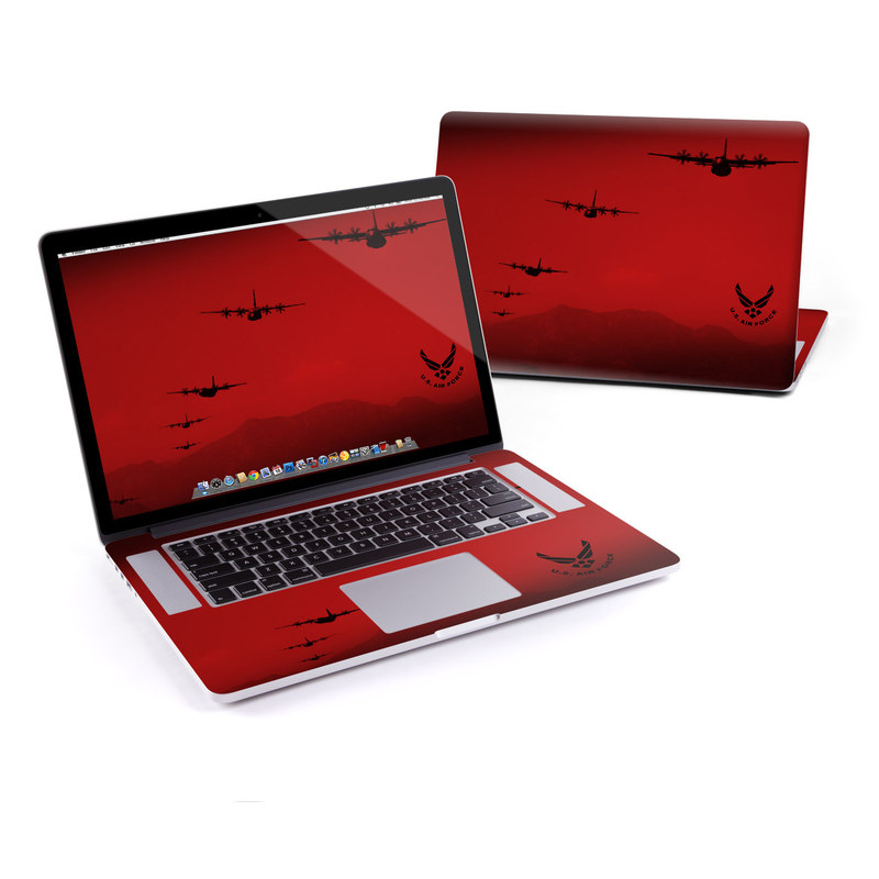 Air Traffic MacBook Pro Retina 15-inch Skin