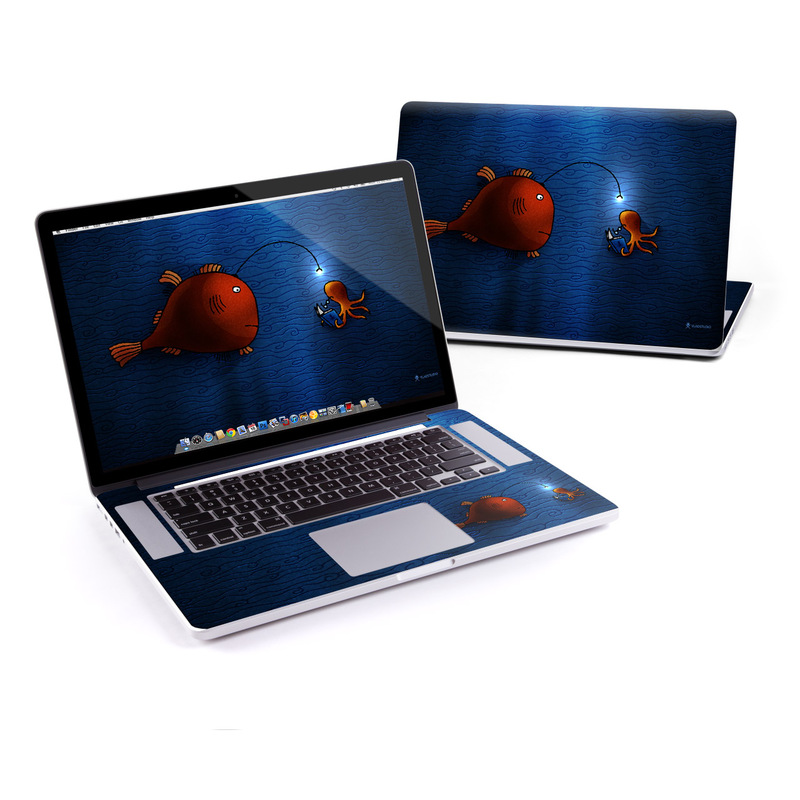 Angler Fish MacBook Pro Retina 15-inch Skin