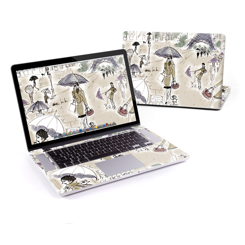 Ah Paris MacBook Pro Retina 15-inch Skin