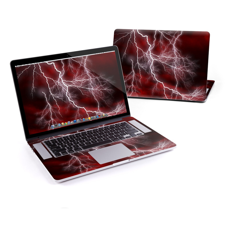 Apocalypse Red MacBook Pro Pre 2016 Retina 15-inch Skin