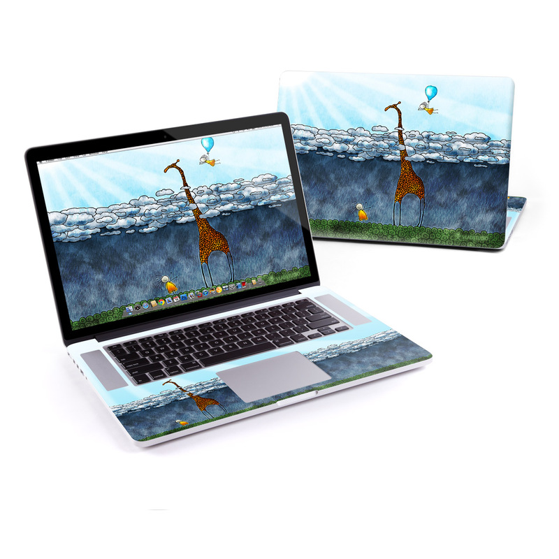 Above The Clouds MacBook Pro Retina 15-inch Skin