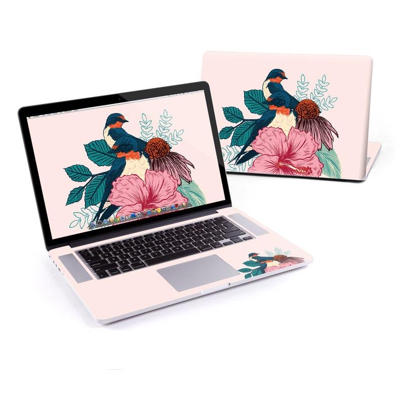 Barn Swallows MacBook Pro Pre 2016 Retina 15-inch Skin