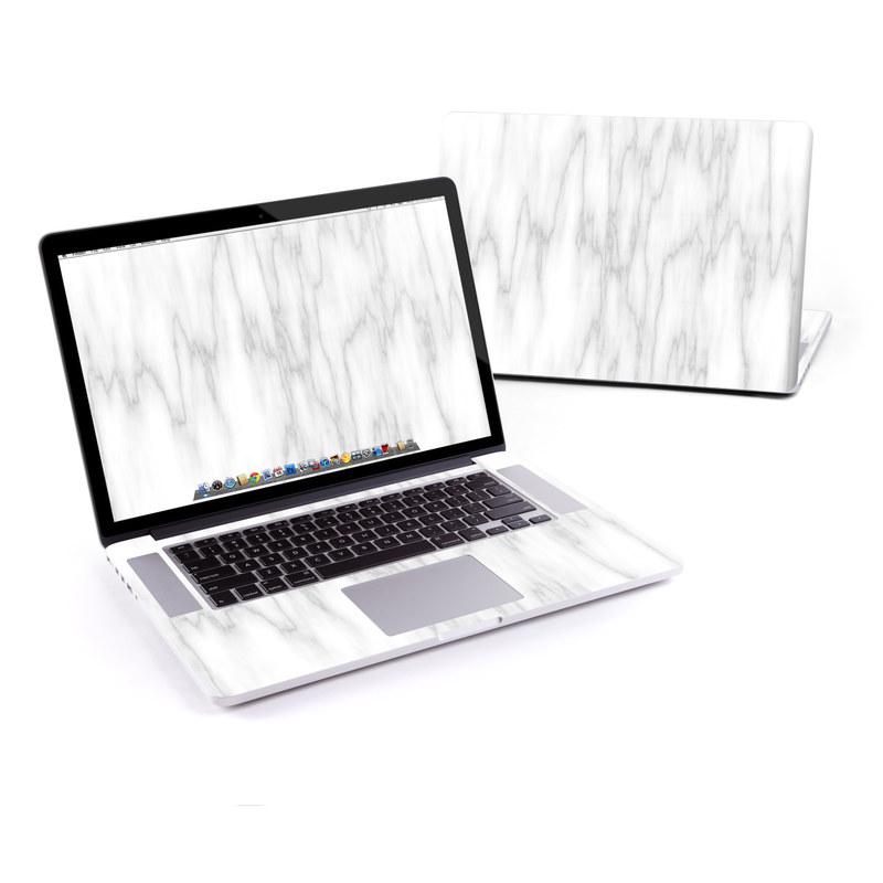 Bianco Marble MacBook Pro Retina 15-inch Skin