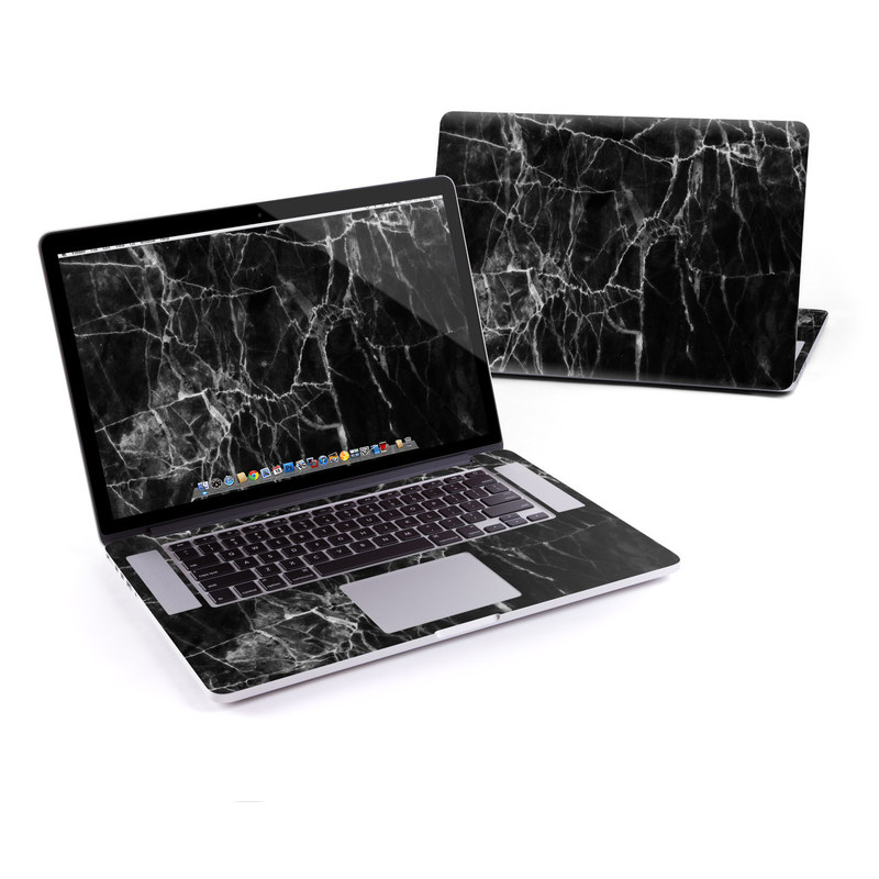 Black Marble MacBook Pro Retina 15-inch Skin