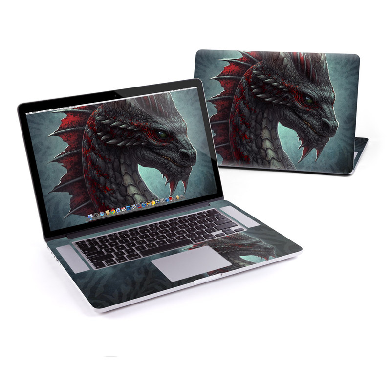 Black Dragon MacBook Pro Retina 15-inch Skin