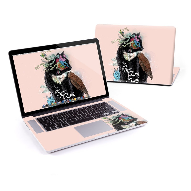 Black Magic MacBook Pro Retina 15-inch Skin