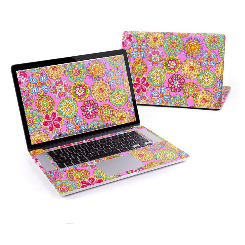 Bright Flowers MacBook Pro Retina 15-inch Skin