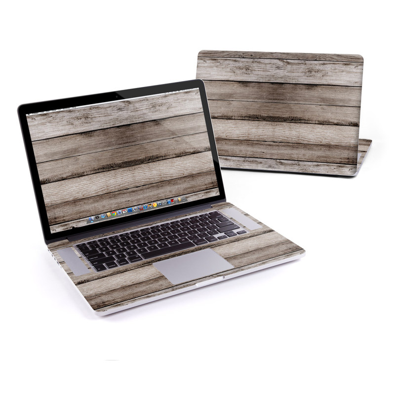 Barn Wood MacBook Pro Pre 2016 Retina 15-inch Skin