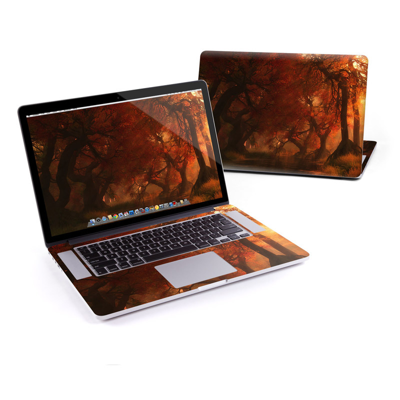 Canopy Creek Autumn MacBook Pro Pre 2016 Retina 15-inch Skin