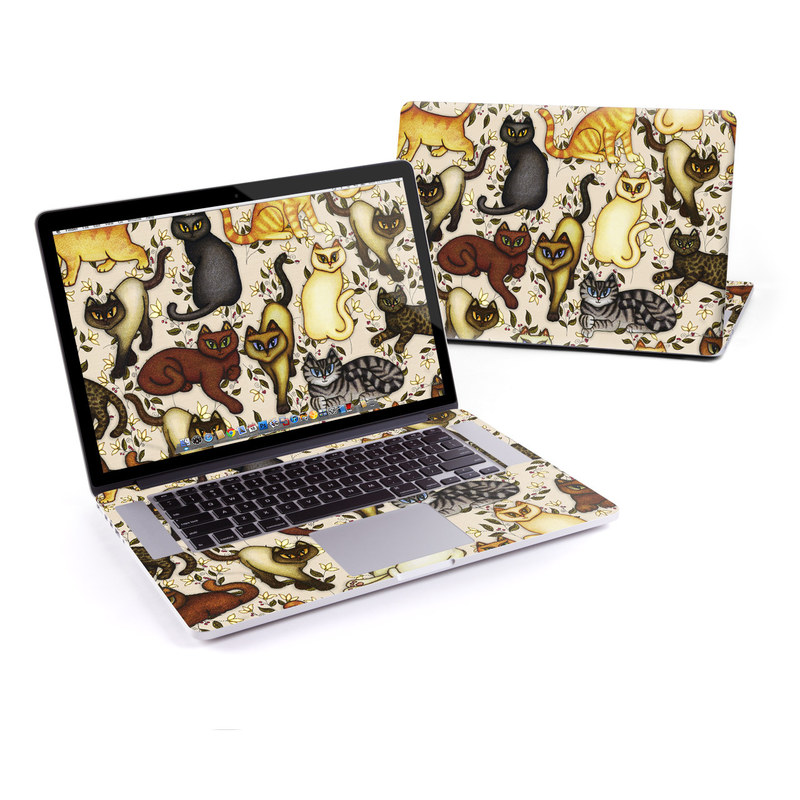 Cats MacBook Pro Retina 15-inch Skin