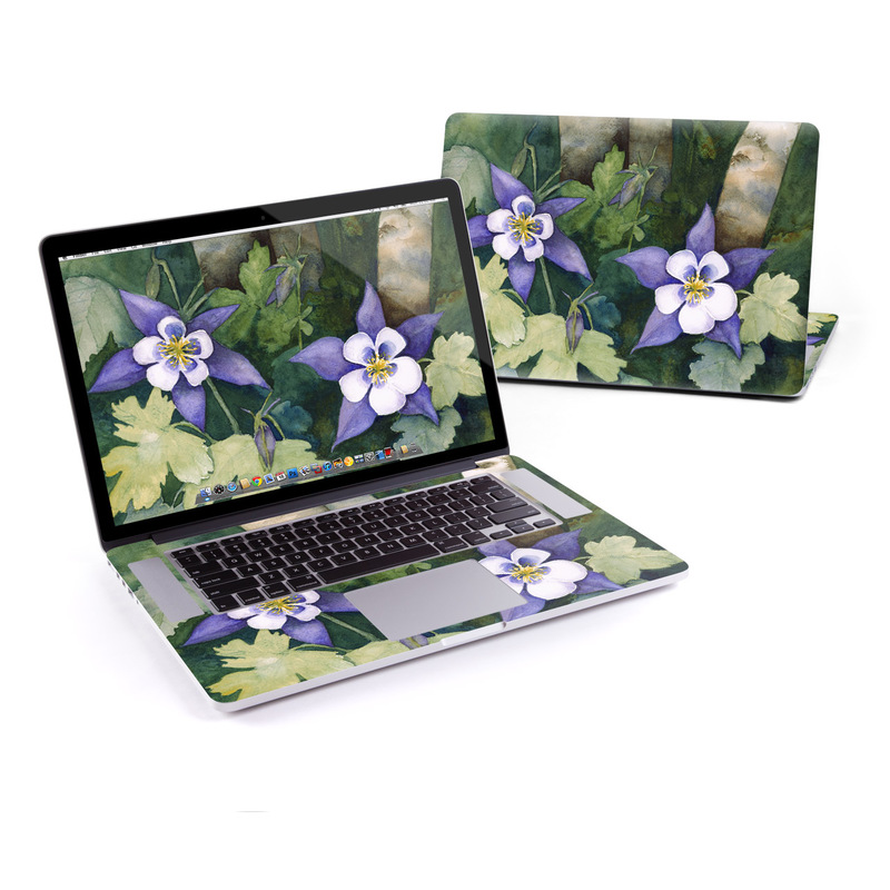 Colorado Columbines MacBook Pro Retina 15-inch Skin