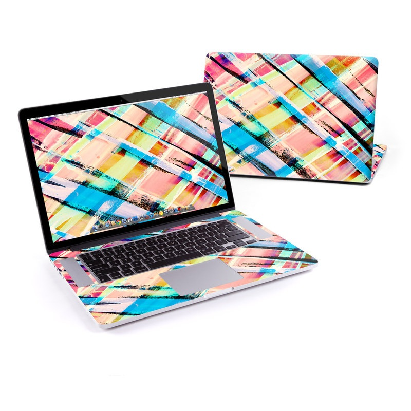 Check Stripe MacBook Pro Retina 15-inch Skin