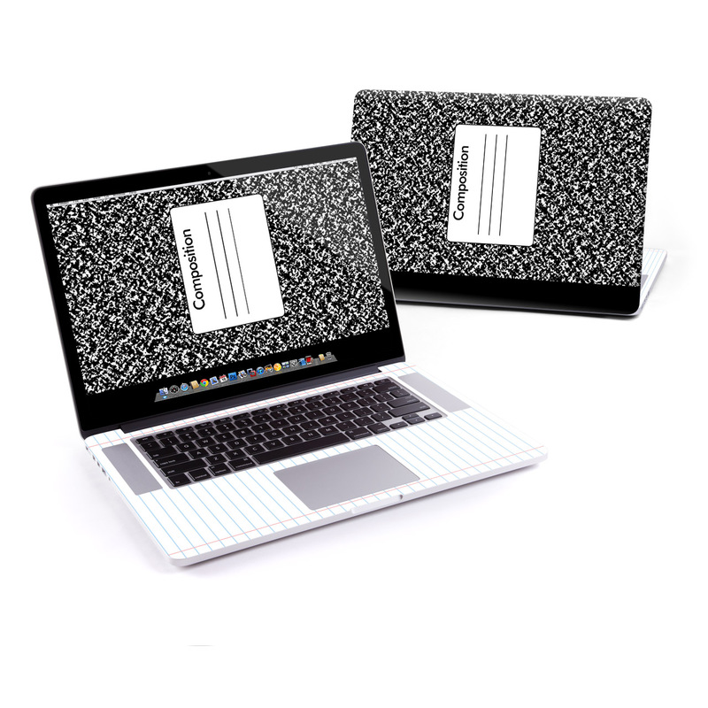 Composition Notebook MacBook Pro Retina 15-inch Skin