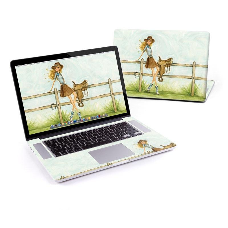 Cowgirl Glam MacBook Pro Retina 15-inch Skin
