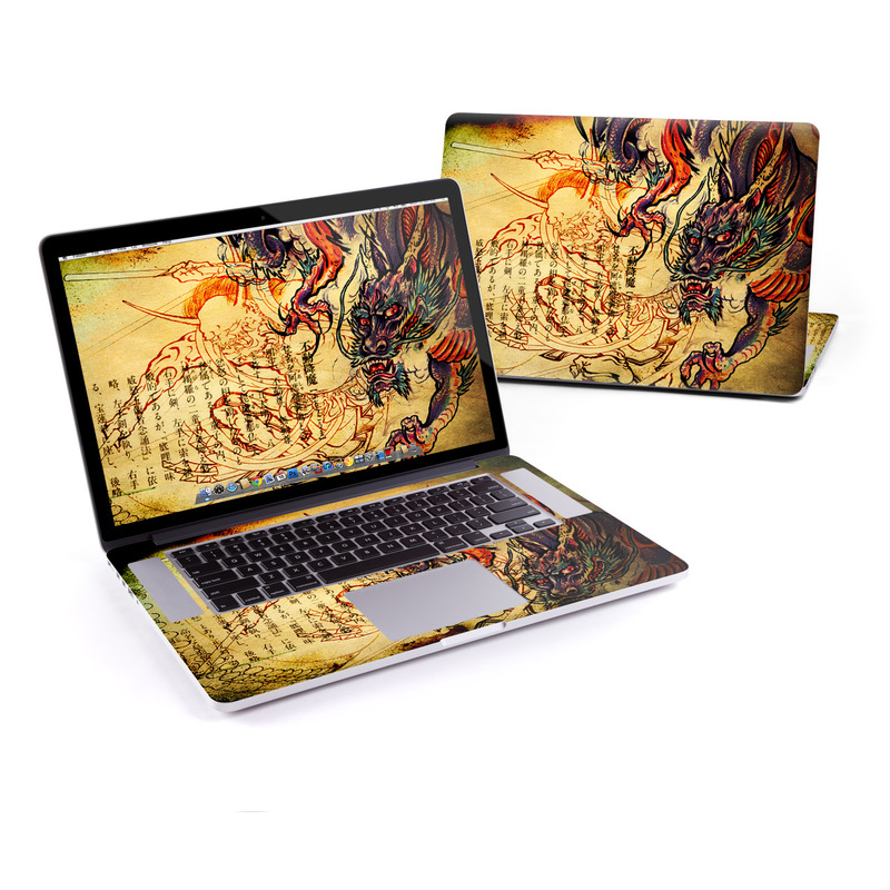 Dragon Legend MacBook Pro Retina 15-inch Skin