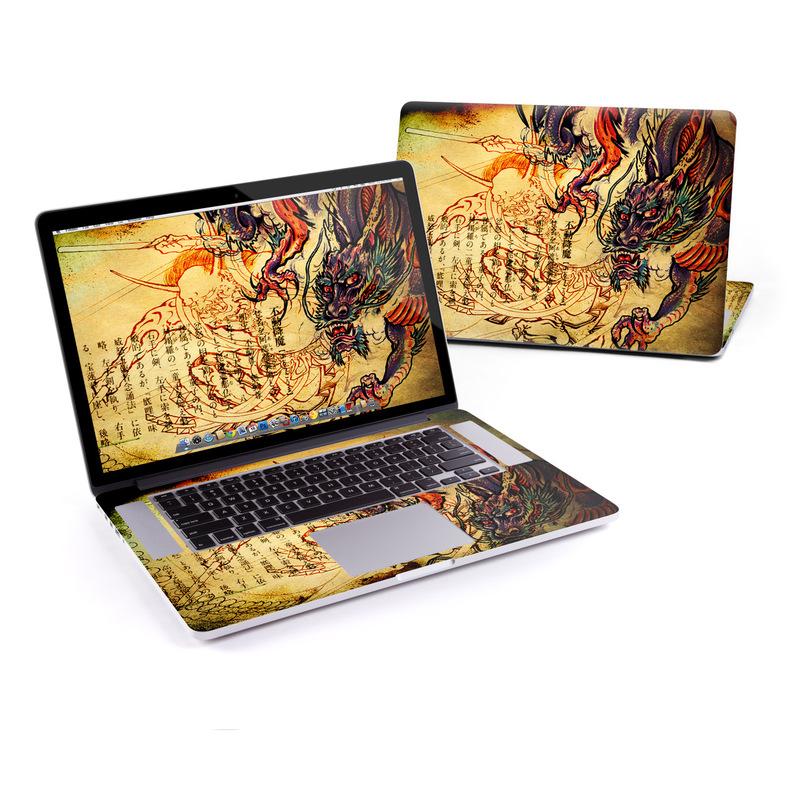 Dragon Legend MacBook Pro Retina 15-inch Skin
