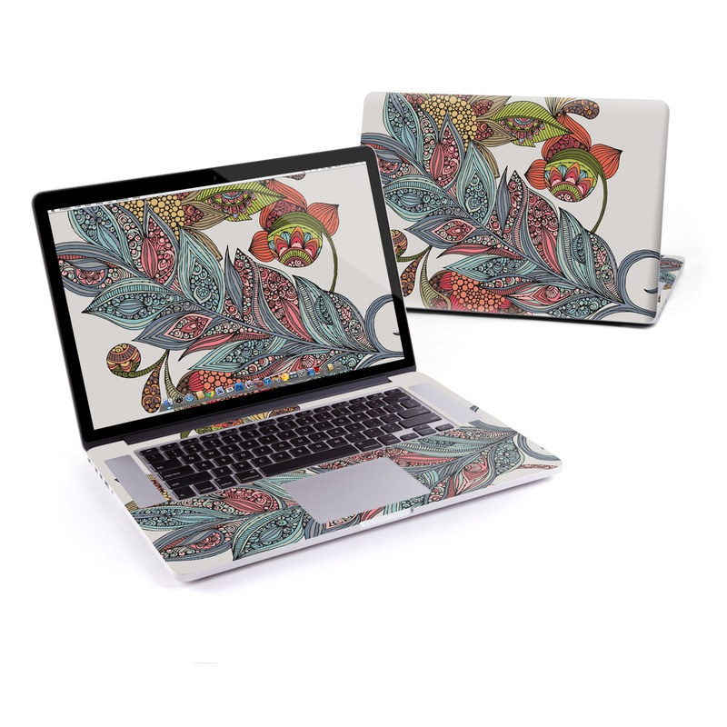 Feather Flower MacBook Pro Retina 15-inch Skin
