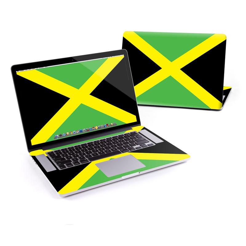 Jamaican Flag MacBook Pro Pre 2016 Retina 15-inch Skin
