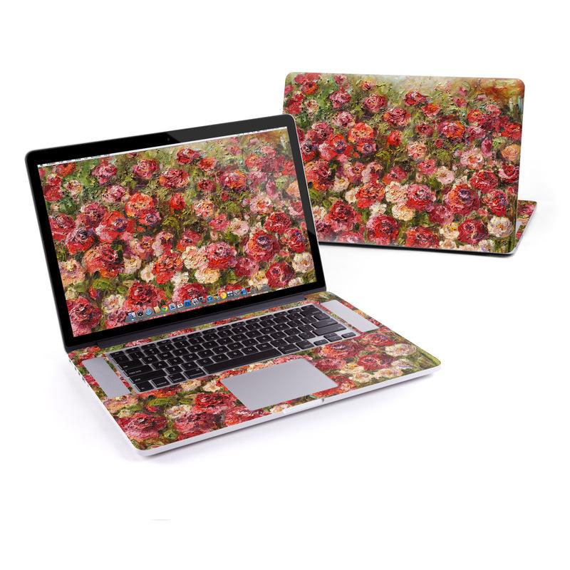 Fleurs Sauvages MacBook Pro Retina 15-inch Skin