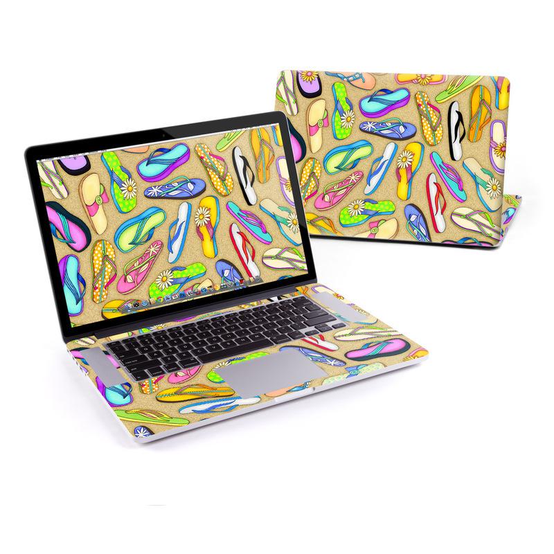 Flip Flops MacBook Pro Retina 15-inch Skin