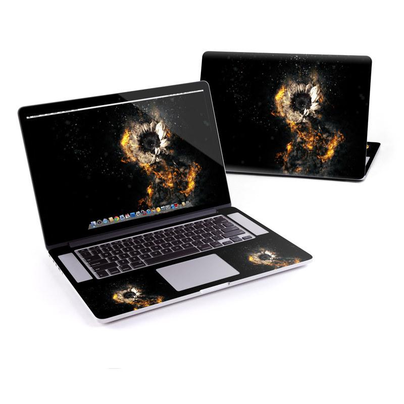 Flower Fury MacBook Pro Retina 15-inch Skin