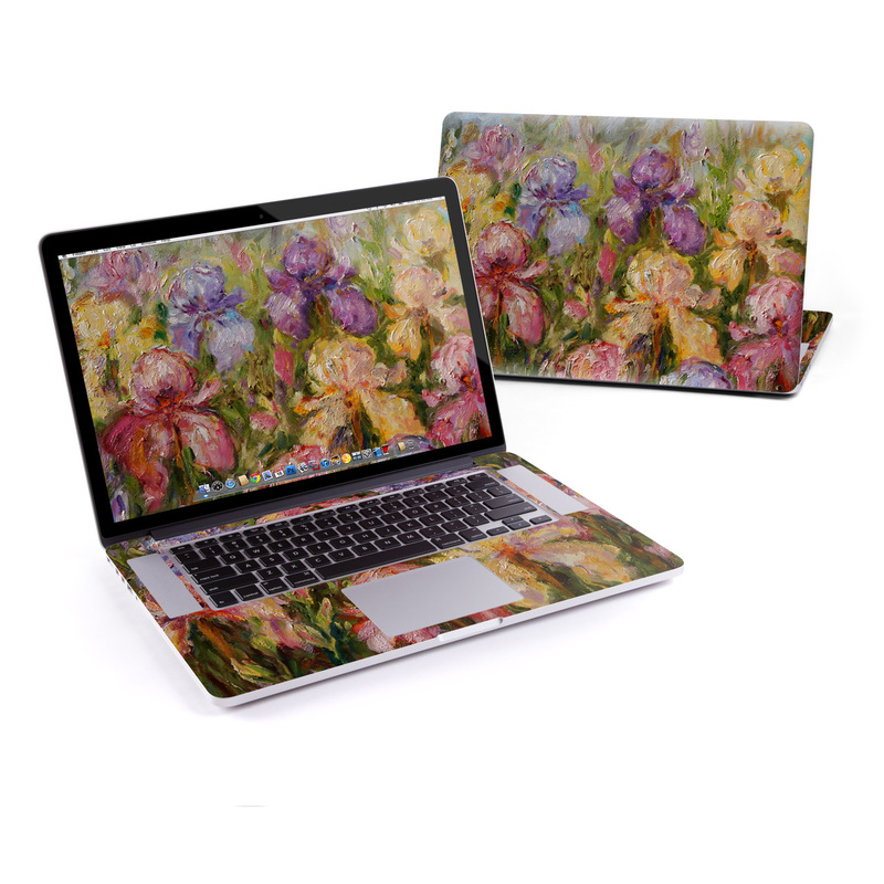 Field Of Irises MacBook Pro Retina 15-inch Skin