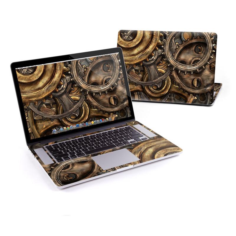 Gears MacBook Pro Retina 15-inch Skin