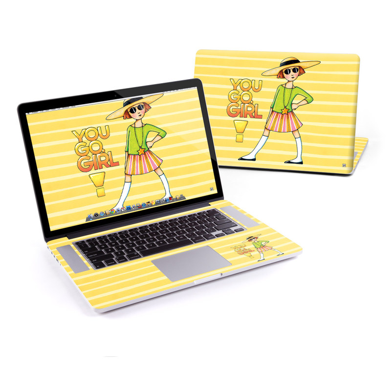 You Go Girl MacBook Pro Retina 15-inch Skin